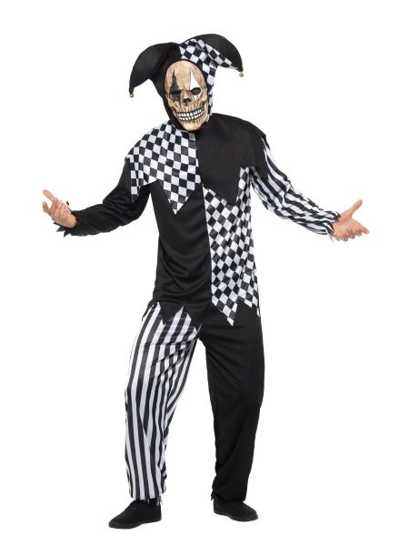Evil Court Jester Costume